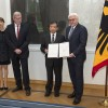 German President received the representative of Lawyer Dai