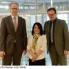 Vietnamese labor rights activist Do Thi Minh Hanh visits German Bundestag