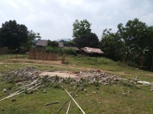 150526 Destruction of SSFO in Lè Hamlet, Tuyen Quang Province, Vietnam